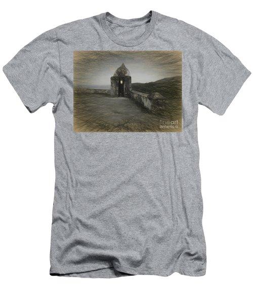 Umatac Guam- Spanish Lookout Men's T-Shirt (Athletic Fit)
