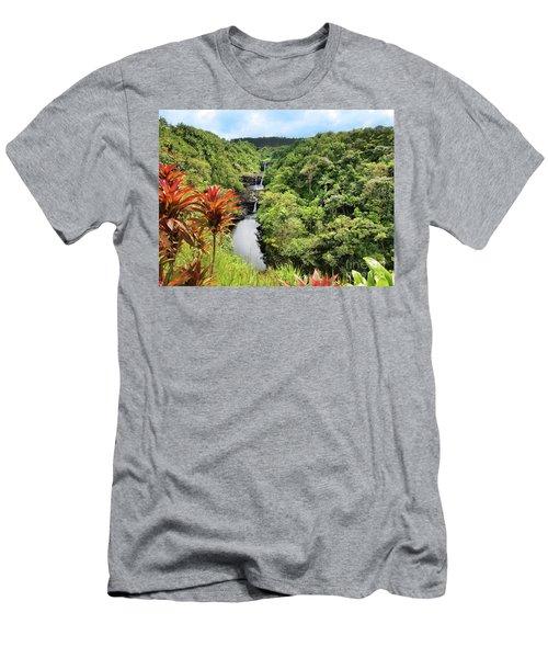 Umauma Falls Men's T-Shirt (Athletic Fit)