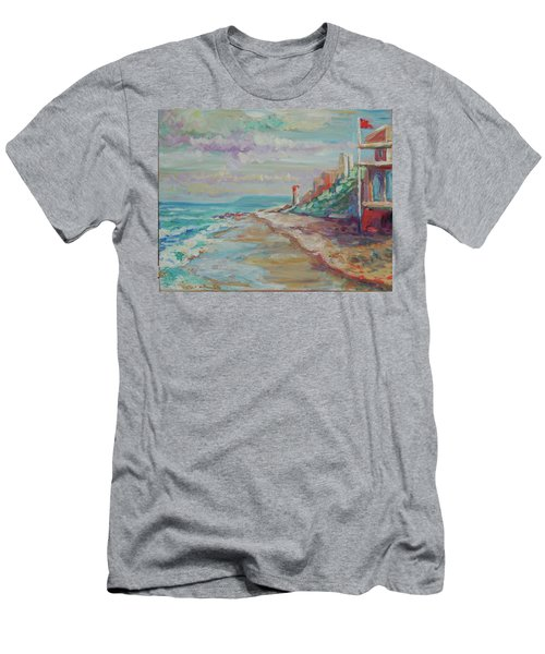 Umhlanga Light House And Beach Men's T-Shirt (Athletic Fit)