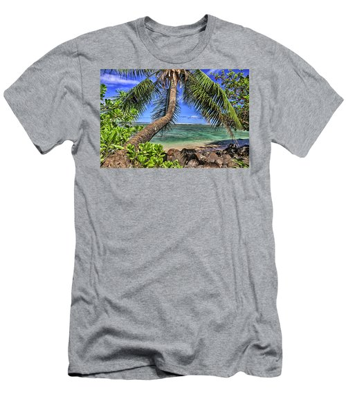 Under The Coconut Tree Men's T-Shirt (Athletic Fit)