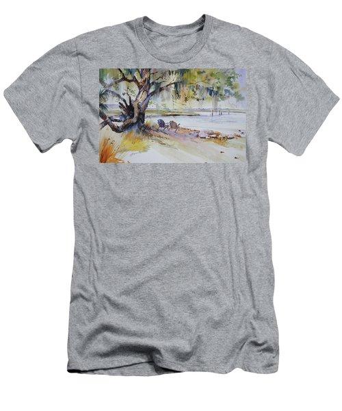 Under The Live Oak Men's T-Shirt (Athletic Fit)