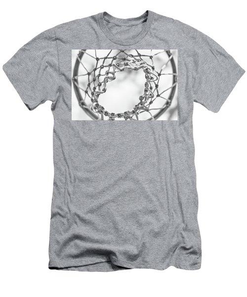 Under The Net Men's T-Shirt (Slim Fit) by Karol Livote