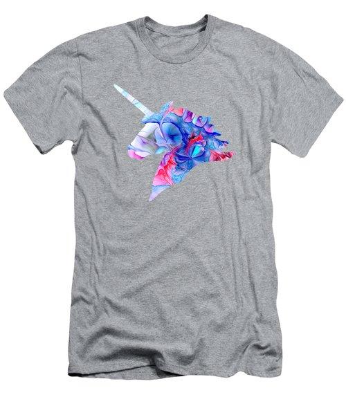 Unicorn Dream Men's T-Shirt (Slim Fit) by Anastasiya Malakhova