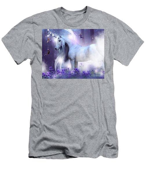 Unicorn Kisses Men's T-Shirt (Athletic Fit)