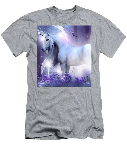 Unicorn Kisses Men's T-Shirt (Athletic Fit)