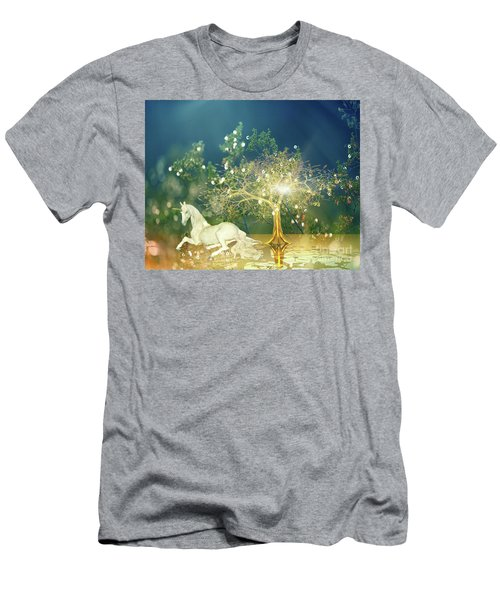 Unicorn Resting Series 2 Men's T-Shirt (Athletic Fit)