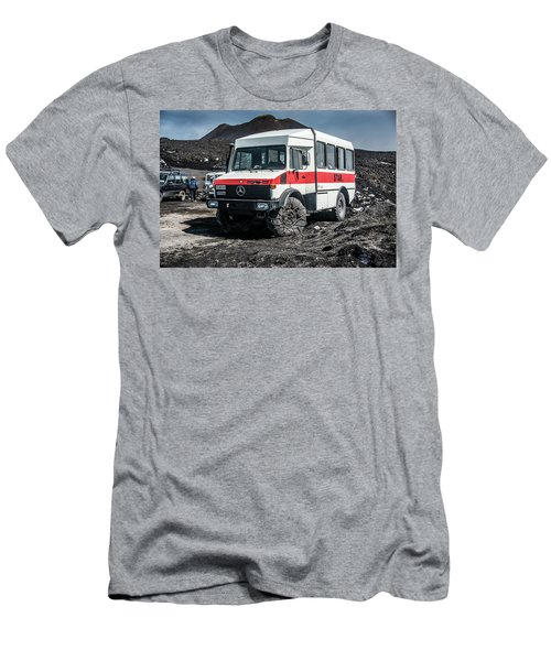 Unimog On Mt. Etna Men's T-Shirt (Athletic Fit)