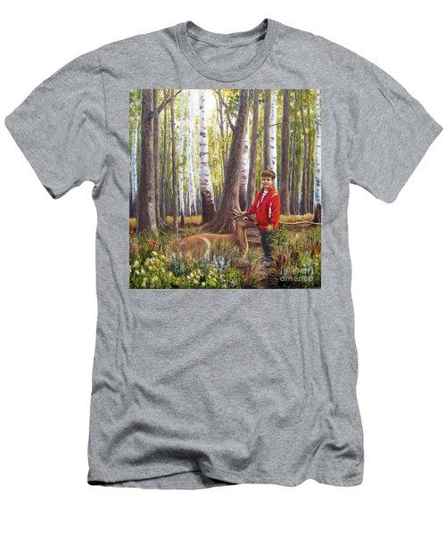 Uninhibited Men's T-Shirt (Athletic Fit)