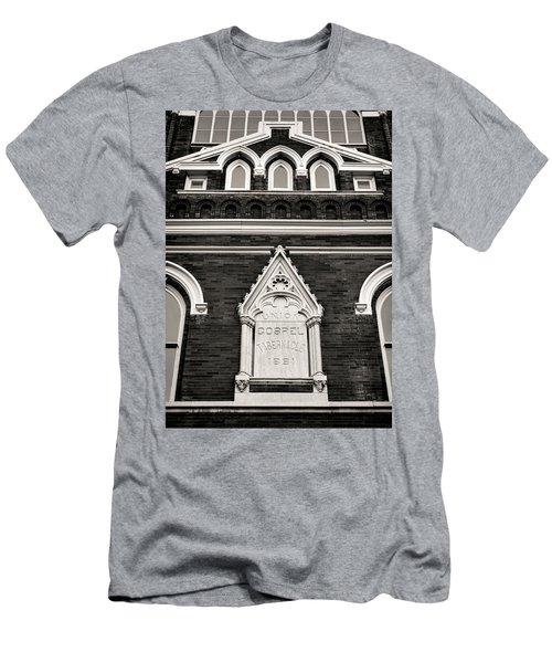 Union Gospel Tabernacle - Aka Ryman Auditorium Men's T-Shirt (Athletic Fit)