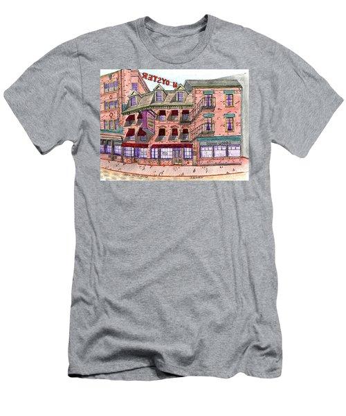 Union Osyter House Boston Men's T-Shirt (Slim Fit) by Paul Meinerth