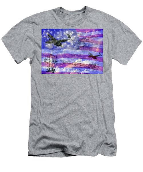 United States Armed Forces One Men's T-Shirt (Athletic Fit)