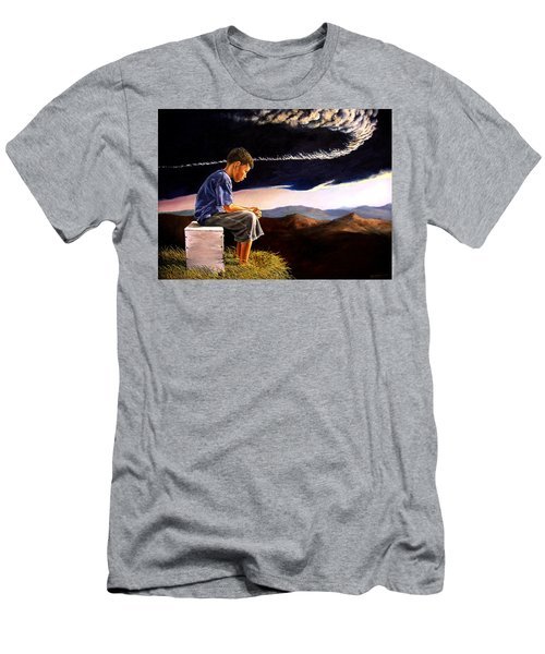 Unscarred Mountain Men's T-Shirt (Athletic Fit)
