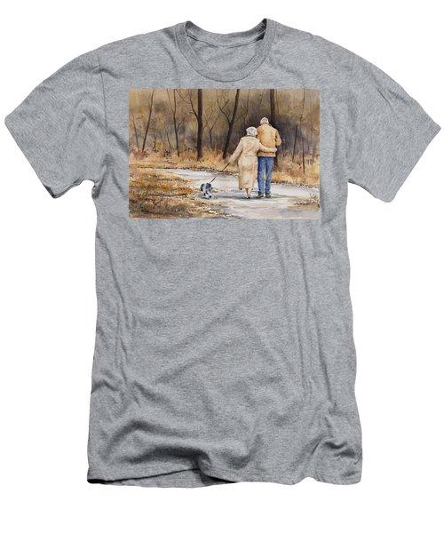 Unspoken Love Men's T-Shirt (Slim Fit) by Sam Sidders
