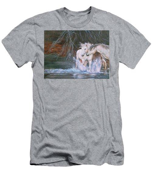Unspoken Persuasion Men's T-Shirt (Athletic Fit)