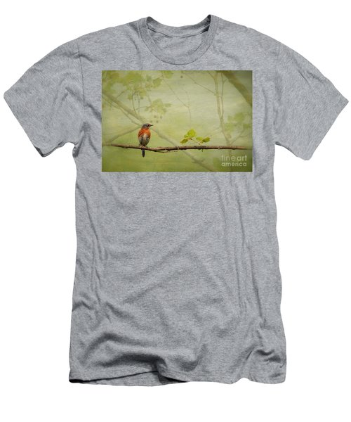 Until Spring Men's T-Shirt (Slim Fit) by Lois Bryan