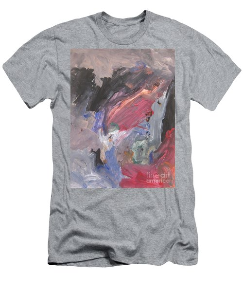 Untitled #6  Original Painting Men's T-Shirt (Athletic Fit)