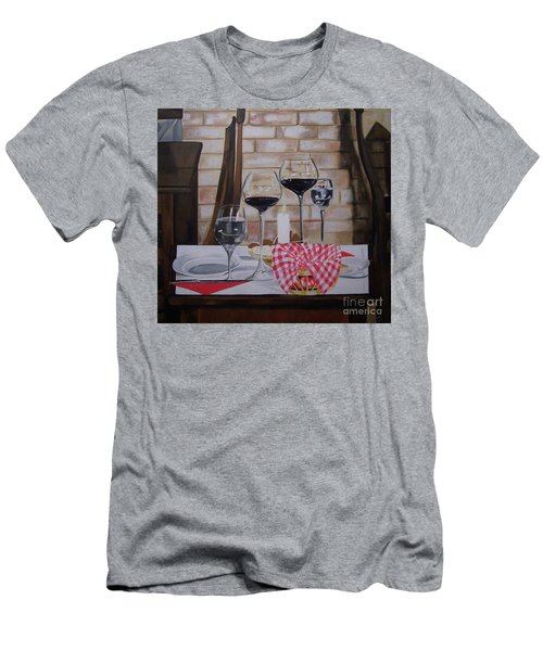 Untitled Men's T-Shirt (Slim Fit) by Chelle Brantley