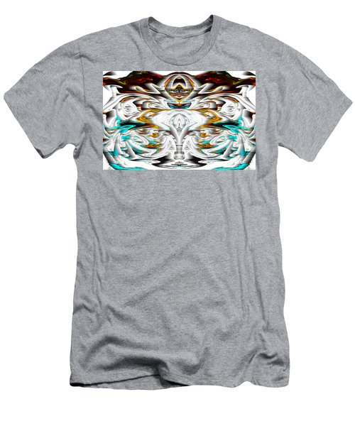 Men's T-Shirt (Athletic Fit) featuring the digital art Untitled Series 992.042212 by Kris Haas