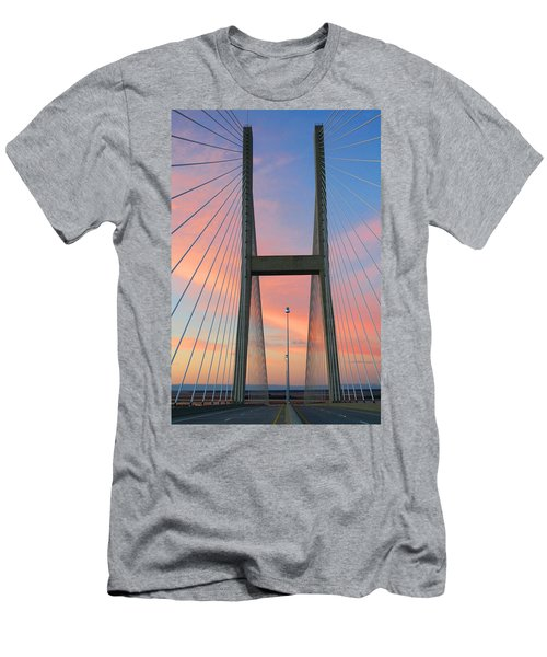 Up On The Bridge Men's T-Shirt (Athletic Fit)