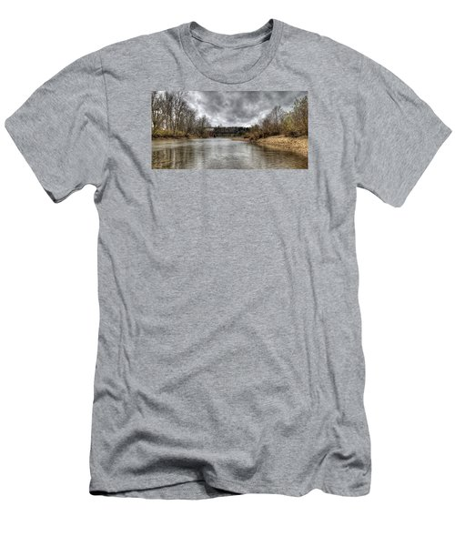 Up The Creek Men's T-Shirt (Athletic Fit)