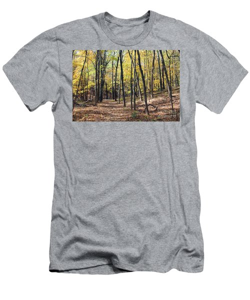 Up The Woodland Trail Men's T-Shirt (Athletic Fit)