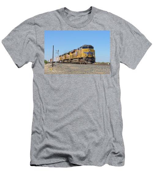 Up8107 Men's T-Shirt (Athletic Fit)