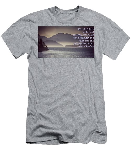 Uplifting244 Men's T-Shirt (Slim Fit) by David Norman