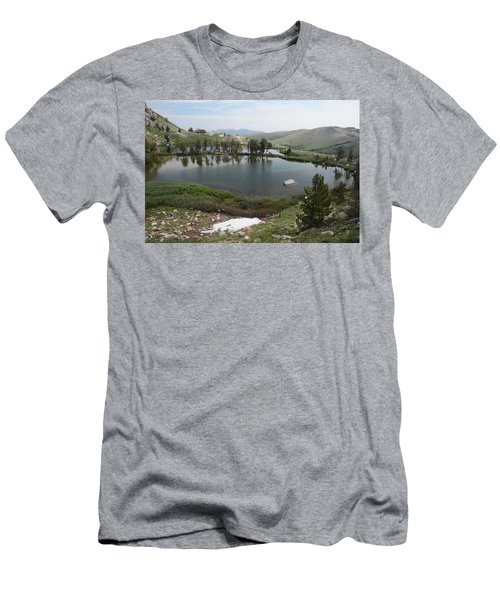 Upper Hidden Lake Men's T-Shirt (Slim Fit) by Jenessa Rahn