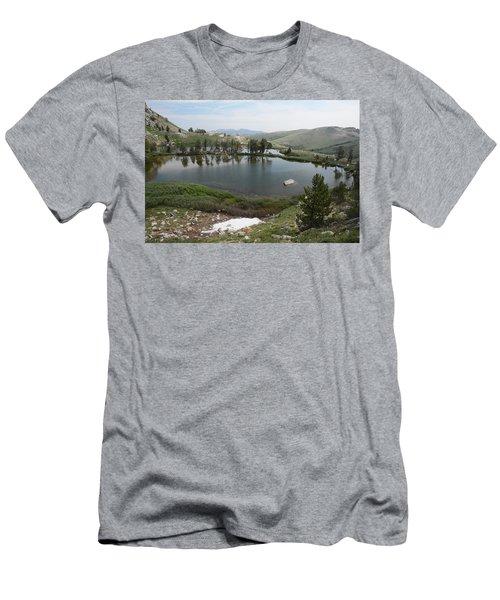 Upper Hidden Lake Men's T-Shirt (Athletic Fit)