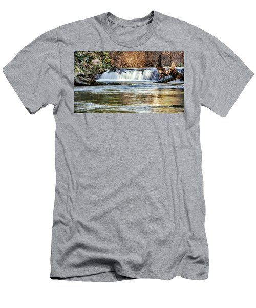 Upper Whatcom Falls Men's T-Shirt (Athletic Fit)