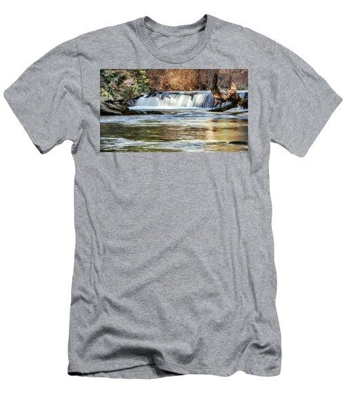 Upper Whatcom Falls Men's T-Shirt (Athletic Fit)