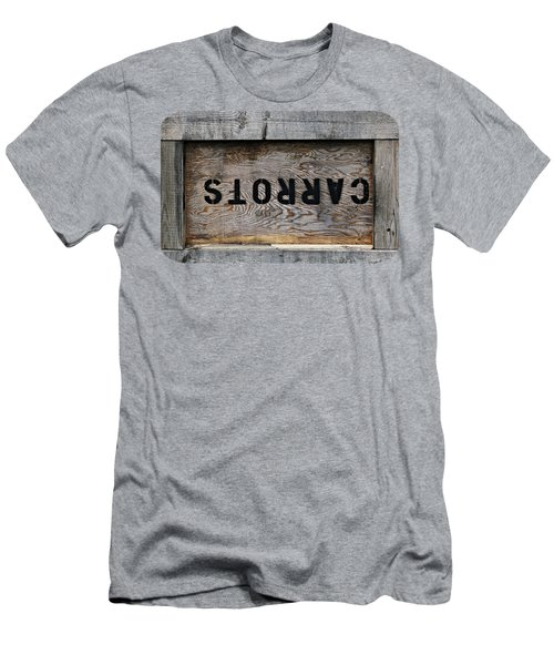 Upside Down Carrot Box Men's T-Shirt (Athletic Fit)