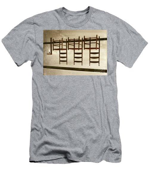 Upside Down Men's T-Shirt (Athletic Fit)