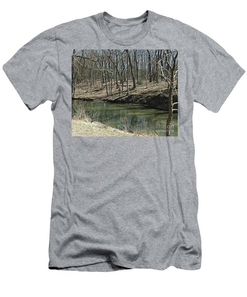 Upstream Men's T-Shirt (Athletic Fit)