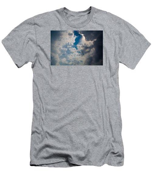 Upward Men's T-Shirt (Slim Fit) by Carlee Ojeda