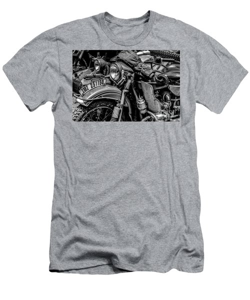 Men's T-Shirt (Slim Fit) featuring the photograph Ural Patrol Bike by Anthony Citro