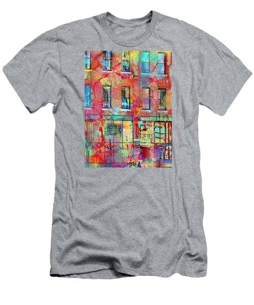 Urban Wall Men's T-Shirt (Slim Fit) by Susan Stone