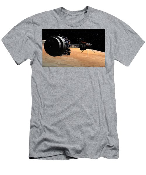 Uss Hermes 1 In Orbit Men's T-Shirt (Athletic Fit)