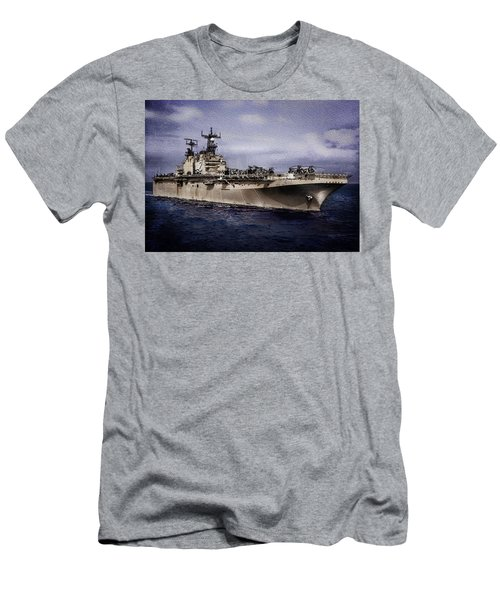 Uss Iwo Jima Lph2 Men's T-Shirt (Athletic Fit)