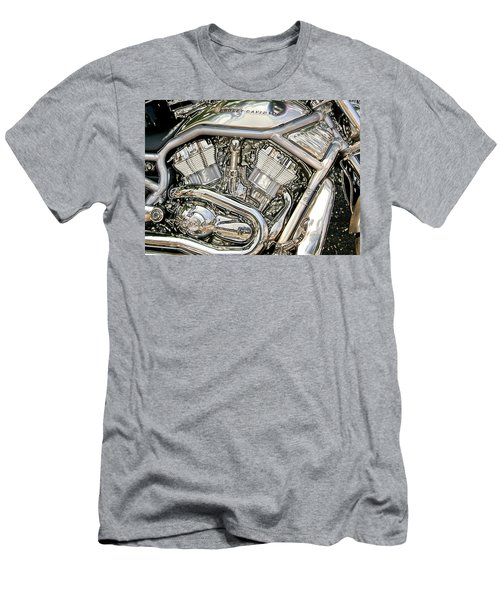 V-rod Titanium Men's T-Shirt (Athletic Fit)