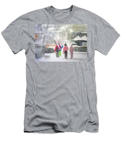 Vail,colorado  Men's T-Shirt (Slim Fit) by Ed Heaton