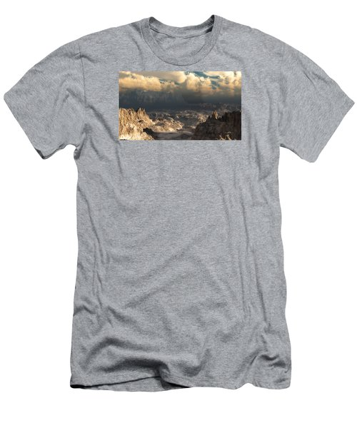 Valley At Dusk Men's T-Shirt (Athletic Fit)
