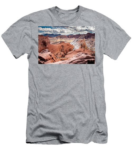Men's T-Shirt (Slim Fit) featuring the photograph Valley Of Fire Expanse by Jason Moynihan