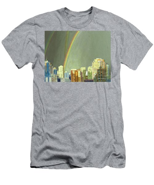 Vancouver Bc Men's T-Shirt (Athletic Fit)
