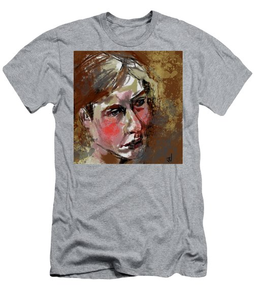 Men's T-Shirt (Athletic Fit) featuring the digital art Vanessa by Jim Vance