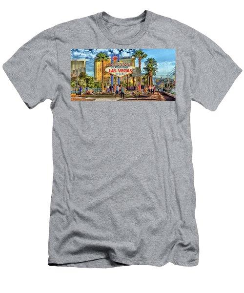 Vegasstrong Men's T-Shirt (Athletic Fit)