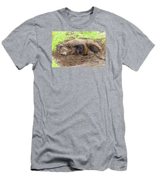 Veggin Out Men's T-Shirt (Slim Fit) by Harold Piskiel