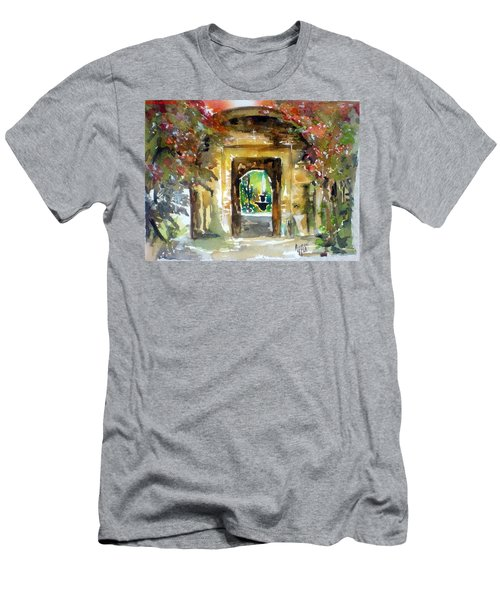 Venetian Gardens Men's T-Shirt (Athletic Fit)