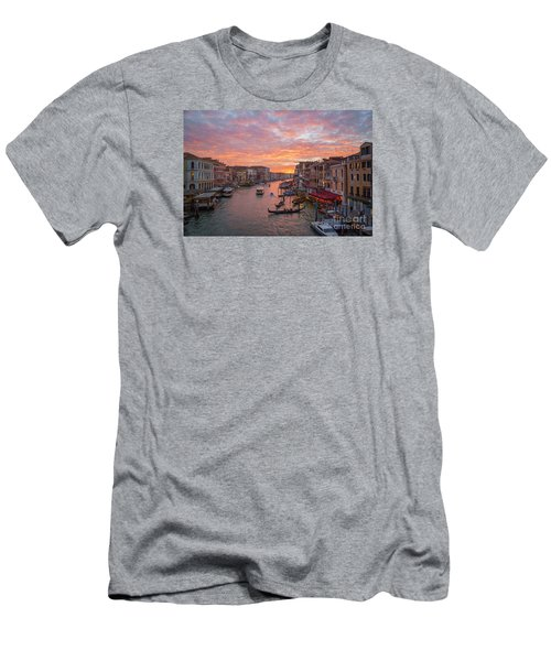 Venice At Sunset - Italy Men's T-Shirt (Athletic Fit)