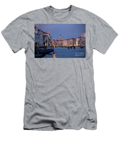Venice Blue Hour 2 Men's T-Shirt (Athletic Fit)
